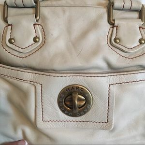 8a5d5dbbf4ee Marc By Marc Jacobs Bags - Marc by Marc Jacobs White Leather Shoulder Purse